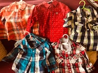 assorted-color plaid dress shirts Edinburg, 78542