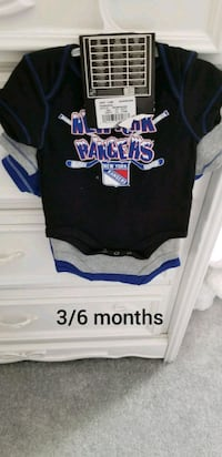 3-6 month ranger onsies brand new with tags 261 mi