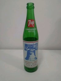 Commemorative 7up Bottle. Trades considered.