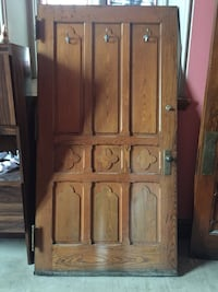 Wooden door - old wood vintage