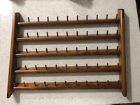 Antique sewing thread rack for 55 threads Spring, 77380