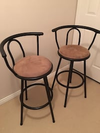 2 swivel bar stools Mississauga