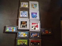 assorted Nintendo Gameboy game cartridges Edmonton, T6J 4G2
