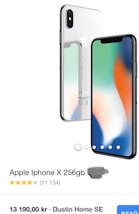 iPhone X 256Gb Göteborg, 424 39