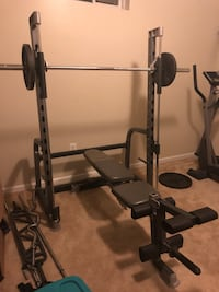 black and gray bench press Brandywine, 20613