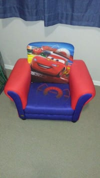 """cars""kids chair (barley used  Spruce Grove, T7X 4R9"