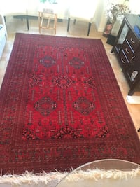 Afghan hand made carpet. It is made of silk size 2/3 meter New York, 10016