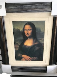 Mona Lisa framed art Vaughan, L4K 2N2