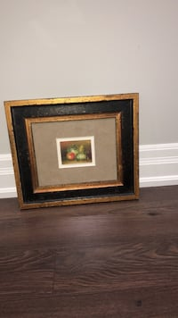 two brown wooden photo frames Toronto