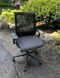 High Tech Chair Amazing, super comfortable Think chair from Steelcase. Fully adjustable incl. seat depth. Prof. serviced. Very good condition! Sells for $900+ new.  Asking $200; p/u Milton  Milton