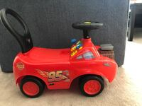 Lightning McQueen ride on toy  Arvada, 80005