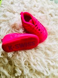 How adorable these are for your new born get them in these K-Swiss. Sold as is. ATLANTA