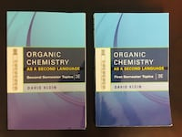 Organic Chemistry As A Second Language Springfield, 22153