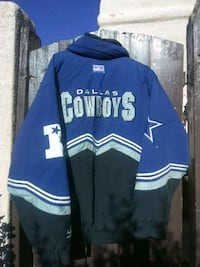 blue and white Dallas Cowboys letterman jacket Albuquerque, 87112