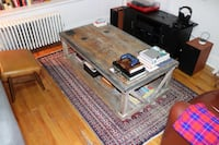 Reclaimed Wood Coffee Table New York, 10027