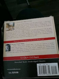 A TALE OF TWO CITIES CD Books CHARLES DICKENS