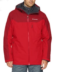 Columbia Whirlibird Red Man Jacket 3X Chicago, 60632