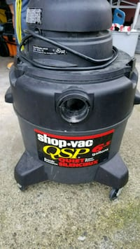 black and red Shop Vac wet / dry vacuum cleaner Vancouver, V5P 1G4