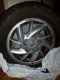 Winter tires plus rims Toronto, M4A 1K2