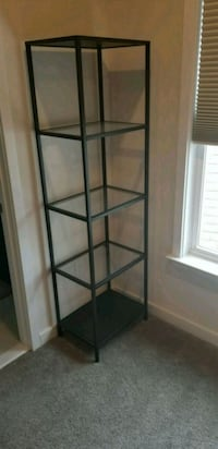 black metal framed glass display cabinet Ashburn, 20147