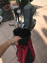 black and red golf bag San Diego, 92108