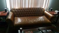 Leather couch Omaha, 68106