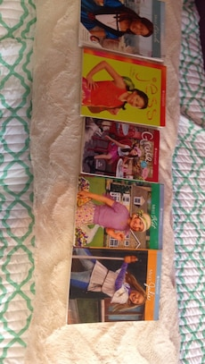 Five American girl doll books Grace, Jess, Cecile, Kit, and Julie $6.95-$7.95 regular retail. Sell at $3 each or $12 for all Five Books