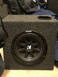 "Kicker Subwoofer 10"" with kicker amp Philadelphia, 19102"
