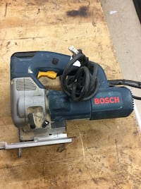 Bosch his saw 587AVC model # used . Tested.
