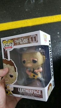 Funko Pop ! Leatgerface vinyl texas chainsaw Toronto
