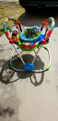 baby's multicolored jumperoo Del Valle, 78617