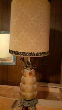 vintage lamp Glass Lamp