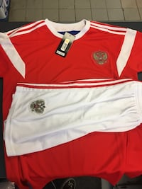 2018 Russia WorldCup jersey+shorts Laval, H7X 1E2