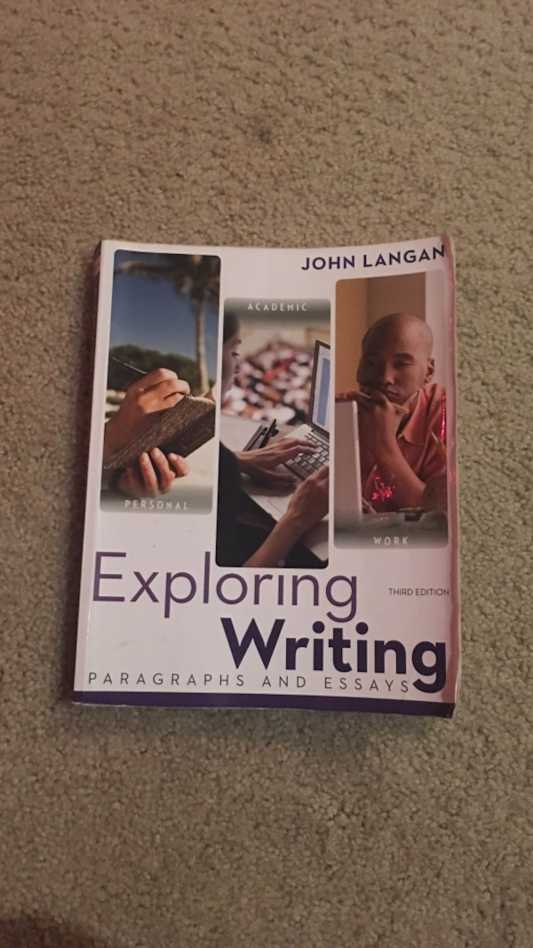 Good Synthesis Essay Topics Exploring Writing By John Langan Book Diwali Essay In English also Thesis Essay Used Exploring Writing By John Langan Book For Sale In Sacramento  Thesis Of An Essay
