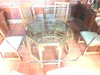 Custom glass dining room table Newton, 07860