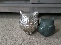 Set of 2 small owl home decor  Wrightsville, 17368