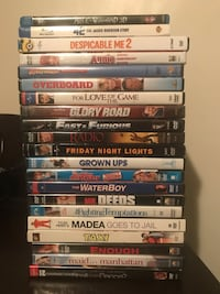 assorted DVD movie case lot Alhambra, 91801