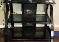 Glass 3 shelf with mount tv stand  Charleston, 29414