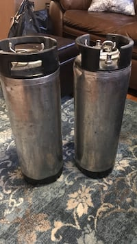 (2) 5-gallon Corny kegs Quincy, 02171