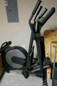 black and gray elliptical trainer Katy, 77494