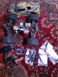 TRAXXAS REVO 3.3 ELECTRIC CONVERSION,  CONVERT ELECTRIQUE