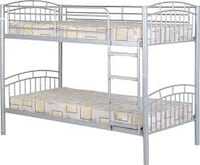 Full size metal frame bunk beds Riverview, 33578