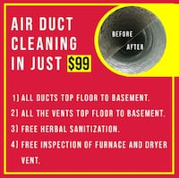 Air Duct Cleaning $ [TL_HIDDEN] 1 Mississauga