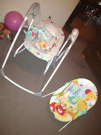 Baby swing and baby bouncer Bakersfield, 93314