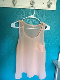 beige scoop neck tank top Modesto, 95355
