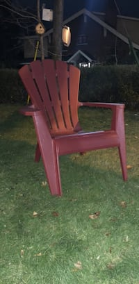brown wooden armchair with ottoman Toronto, M6S 3L1