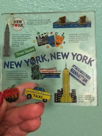Glass New York coasters Racine, 53406