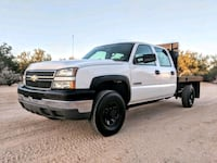 Chevy 2500hd Crew Cab Flatbed 6.0 58k miles 2500 f Scottsdale, 85255