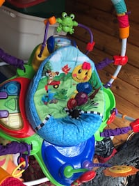 Baby Einstein jumproo lots of different musical