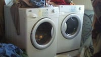 Amana Washer & Dryer almost new affordable